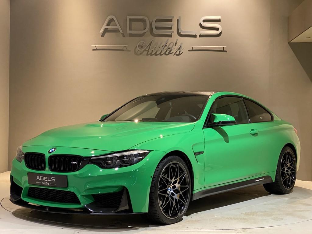 2018 BMW M4 Competition Facelift Signal Green Individual Keramische Remmen Carbon Pakket