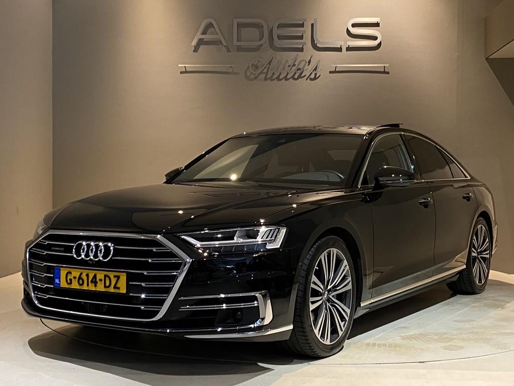 2018 Audi A8 50 TDI Quattro Pro Line Plus 4-Wielsturing Panodak B&O Adaptieve Cruise